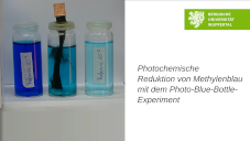 Photochemische Reduktion von Methylenblau mit dem Photo-Blue-Bottle-Experiment